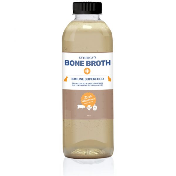Bone Broth Bottle Mushroon